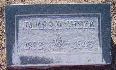 CHEEK, JAMES HENRY - Yavapai County, Arizona | JAMES HENRY CHEEK - Arizona Gravestone Photos