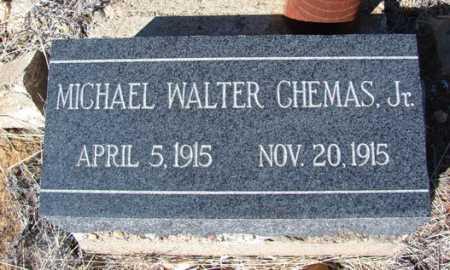 CHEMAS, MICHAEL WALTER JR. - Yavapai County, Arizona   MICHAEL WALTER JR. CHEMAS - Arizona Gravestone Photos