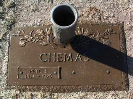 CHEMAS, PETE JOHN - Yavapai County, Arizona | PETE JOHN CHEMAS - Arizona Gravestone Photos