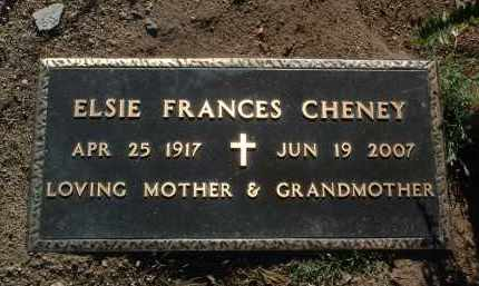 BARKER CHENEY, ELSIE F. - Yavapai County, Arizona | ELSIE F. BARKER CHENEY - Arizona Gravestone Photos