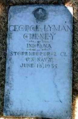 CHENEY, GEORGE LYMAN - Yavapai County, Arizona | GEORGE LYMAN CHENEY - Arizona Gravestone Photos