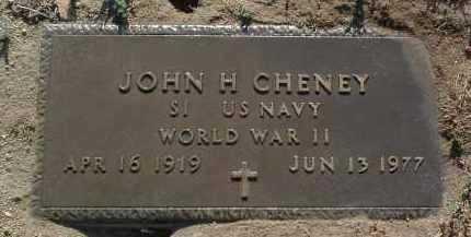 CHENEY, JOHN HUNTER - Yavapai County, Arizona | JOHN HUNTER CHENEY - Arizona Gravestone Photos