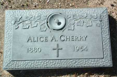 SLOAN CHERRY, ALICE ANN - Yavapai County, Arizona | ALICE ANN SLOAN CHERRY - Arizona Gravestone Photos