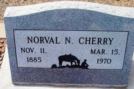 CHERRY, NORVAL NAPOLEON - Yavapai County, Arizona | NORVAL NAPOLEON CHERRY - Arizona Gravestone Photos