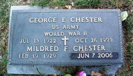 CHESTER, MILDRED FAYE - Yavapai County, Arizona | MILDRED FAYE CHESTER - Arizona Gravestone Photos