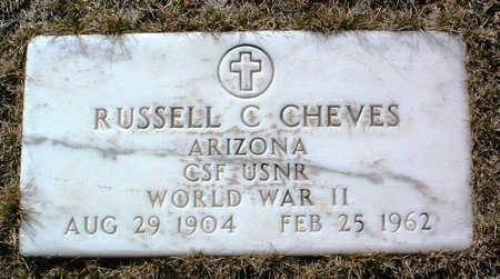 CHEVES, RUSSELL CALVIN - Yavapai County, Arizona   RUSSELL CALVIN CHEVES - Arizona Gravestone Photos