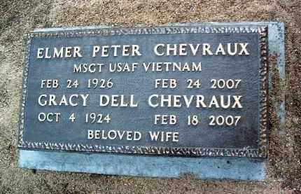 CHEVERAUX, GRACEY DELL - Yavapai County, Arizona | GRACEY DELL CHEVERAUX - Arizona Gravestone Photos