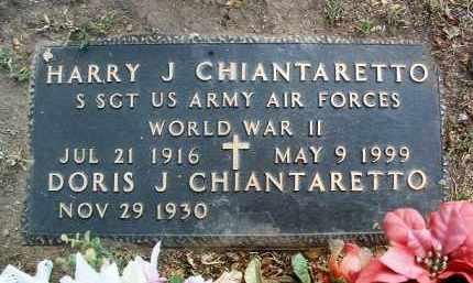 CHIANTARETTO, DORIS J. - Yavapai County, Arizona | DORIS J. CHIANTARETTO - Arizona Gravestone Photos