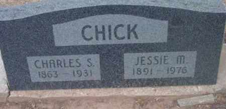 CHICK, JESSIE MAY - Yavapai County, Arizona | JESSIE MAY CHICK - Arizona Gravestone Photos
