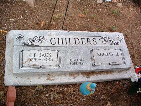 CHILDERS, EVERETT FRANK - Yavapai County, Arizona   EVERETT FRANK CHILDERS - Arizona Gravestone Photos
