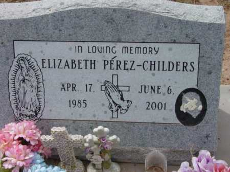 CHILDERS, ELIZABETH - Yavapai County, Arizona | ELIZABETH CHILDERS - Arizona Gravestone Photos