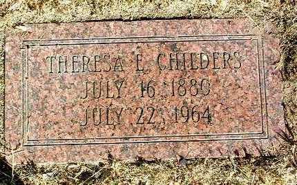 CHILDERS, THERESA E. - Yavapai County, Arizona | THERESA E. CHILDERS - Arizona Gravestone Photos