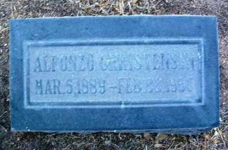 CHRISTENSEN, ALFONZO - Yavapai County, Arizona | ALFONZO CHRISTENSEN - Arizona Gravestone Photos