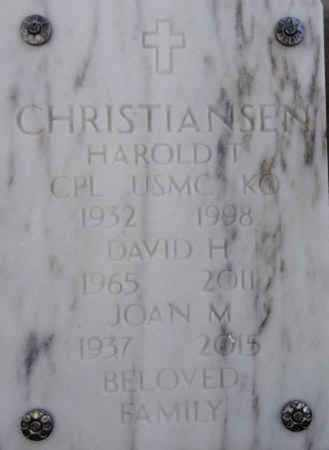 CHRISTIANSEN, HAROLD T. - Yavapai County, Arizona | HAROLD T. CHRISTIANSEN - Arizona Gravestone Photos