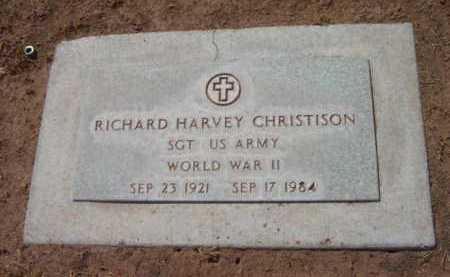 CHRISTISON, RICHARD HARVEY - Yavapai County, Arizona | RICHARD HARVEY CHRISTISON - Arizona Gravestone Photos