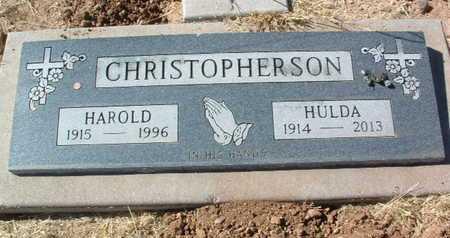 COUGHRAN CHRISTOPHERSON, HULDA - Yavapai County, Arizona | HULDA COUGHRAN CHRISTOPHERSON - Arizona Gravestone Photos