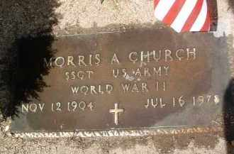 CHURCH, MORRIS A. - Yavapai County, Arizona | MORRIS A. CHURCH - Arizona Gravestone Photos