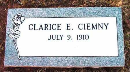 CIEMNY, CLARICE E. - Yavapai County, Arizona   CLARICE E. CIEMNY - Arizona Gravestone Photos
