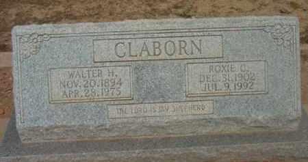 CLABORN, WALTER HAMPTON - Yavapai County, Arizona   WALTER HAMPTON CLABORN - Arizona Gravestone Photos