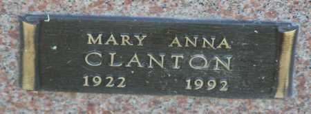 CLANTON, MARY ANNA - Yavapai County, Arizona | MARY ANNA CLANTON - Arizona Gravestone Photos