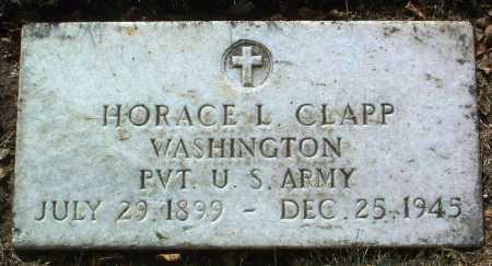 CLAPP, HORACE L. - Yavapai County, Arizona   HORACE L. CLAPP - Arizona Gravestone Photos