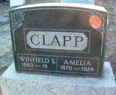 CLAPP, WINFIELD SCOTT - Yavapai County, Arizona | WINFIELD SCOTT CLAPP - Arizona Gravestone Photos