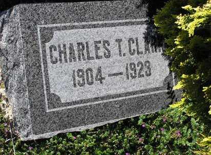 CLARK, CHARLES T. - Yavapai County, Arizona | CHARLES T. CLARK - Arizona Gravestone Photos