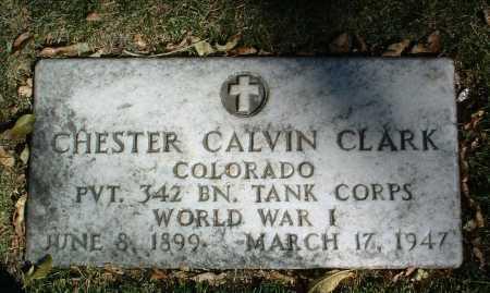 CLARK, CHESTER CALVIN - Yavapai County, Arizona | CHESTER CALVIN CLARK - Arizona Gravestone Photos