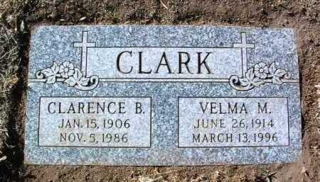 CLARK, CLARENCE BURWELL - Yavapai County, Arizona | CLARENCE BURWELL CLARK - Arizona Gravestone Photos