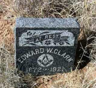 CLARK, EDWARD W. - Yavapai County, Arizona | EDWARD W. CLARK - Arizona Gravestone Photos