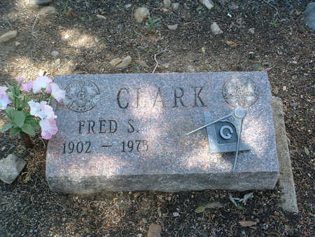 CLARK, FRED S. - Yavapai County, Arizona | FRED S. CLARK - Arizona Gravestone Photos