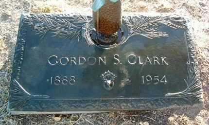 CLARK, GORDON S. - Yavapai County, Arizona   GORDON S. CLARK - Arizona Gravestone Photos