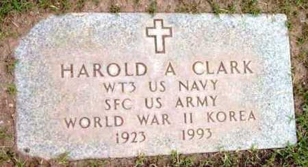 CLARK, HAROLD A. - Yavapai County, Arizona   HAROLD A. CLARK - Arizona Gravestone Photos
