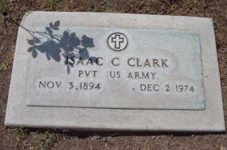 CLARK, ISAAC CALVIN - Yavapai County, Arizona | ISAAC CALVIN CLARK - Arizona Gravestone Photos