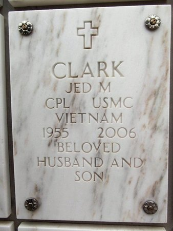 CLARK, JED MARSHALL - Yavapai County, Arizona | JED MARSHALL CLARK - Arizona Gravestone Photos