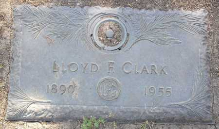 CLARK, LLOYD F. - Yavapai County, Arizona | LLOYD F. CLARK - Arizona Gravestone Photos