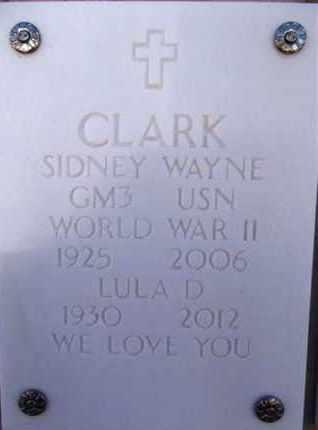 CLARK, LULA D. - Yavapai County, Arizona | LULA D. CLARK - Arizona Gravestone Photos