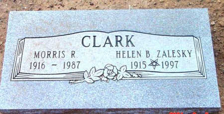 CLARK, MORRIS R. - Yavapai County, Arizona | MORRIS R. CLARK - Arizona Gravestone Photos