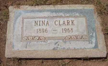 CLARK, NINA VICTORIA - Yavapai County, Arizona | NINA VICTORIA CLARK - Arizona Gravestone Photos