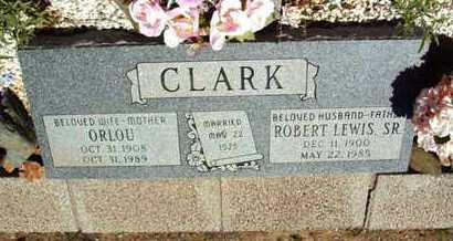 CLARK, ORLOU - Yavapai County, Arizona | ORLOU CLARK - Arizona Gravestone Photos