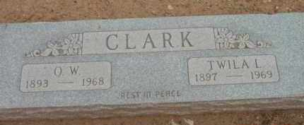 CLARK, TWILA I. - Yavapai County, Arizona | TWILA I. CLARK - Arizona Gravestone Photos