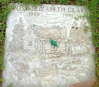 CLARK, ROSE ELIZABETH - Yavapai County, Arizona   ROSE ELIZABETH CLARK - Arizona Gravestone Photos
