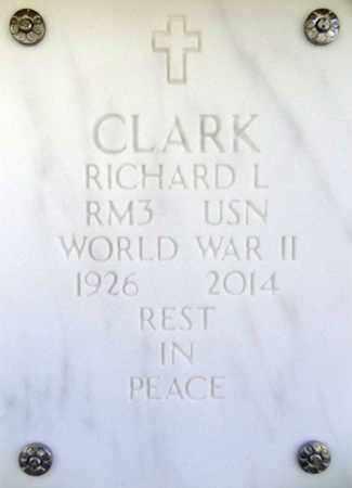 CLARK, RICHARD LOUIS - Yavapai County, Arizona | RICHARD LOUIS CLARK - Arizona Gravestone Photos