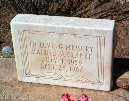 CLARKE, HAROLD DUANE - Yavapai County, Arizona | HAROLD DUANE CLARKE - Arizona Gravestone Photos