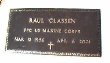 CLASSEN, RAUL (ROCKY) - Yavapai County, Arizona   RAUL (ROCKY) CLASSEN - Arizona Gravestone Photos