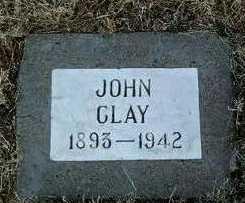 CLAY, JOHN - Yavapai County, Arizona | JOHN CLAY - Arizona Gravestone Photos