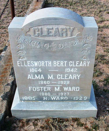 CLEARY, ALMA M. - Yavapai County, Arizona | ALMA M. CLEARY - Arizona Gravestone Photos
