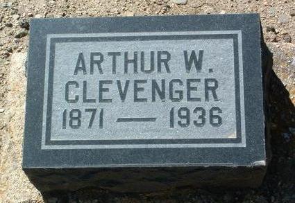CLEAVENGER, ARTHUR W. - Yavapai County, Arizona | ARTHUR W. CLEAVENGER - Arizona Gravestone Photos