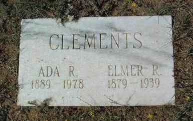 CLEMENTS, ADA  R. - Yavapai County, Arizona | ADA  R. CLEMENTS - Arizona Gravestone Photos
