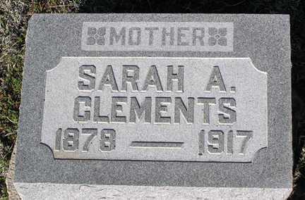 CLEMENTS, SARAH A. - Yavapai County, Arizona   SARAH A. CLEMENTS - Arizona Gravestone Photos